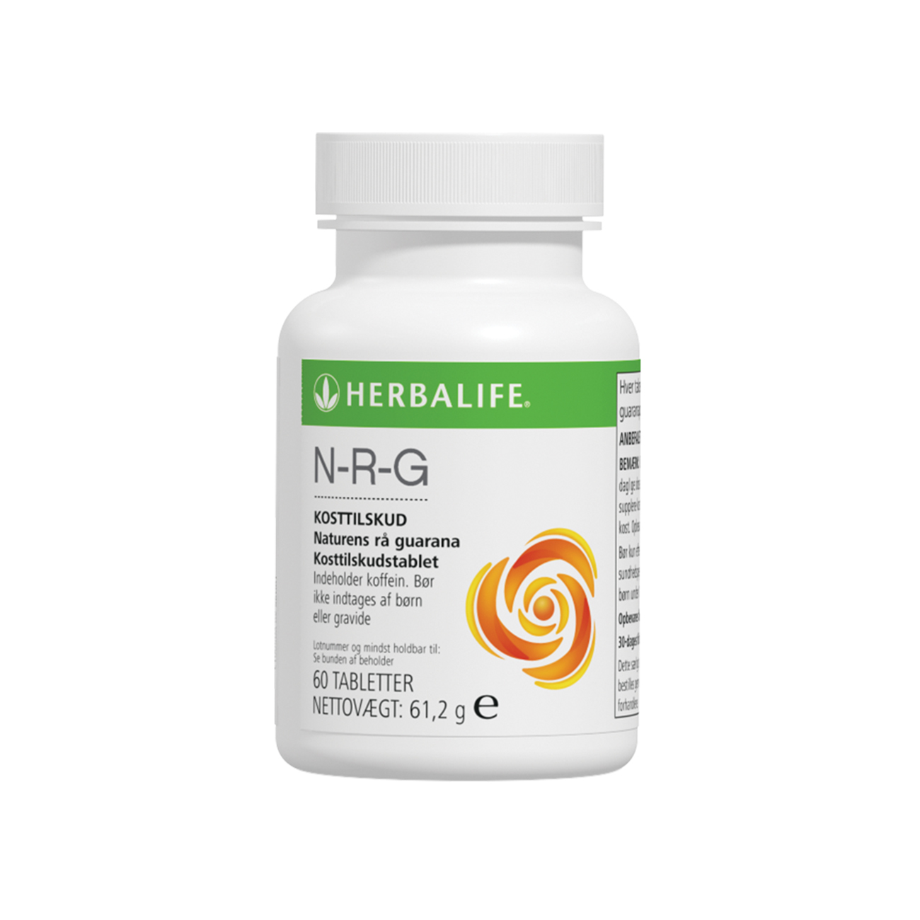 N-R-G Nature's Raw Guarana Koffeintilskud product